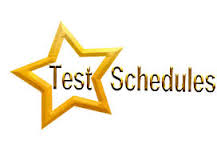 Test Schedule Image